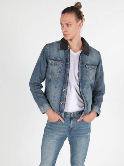 Джинсова куртка Colin's модель CL1051278DN40660 — фото 3 - INTERTOP