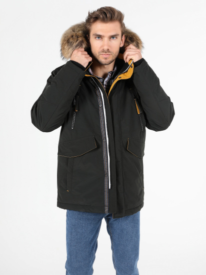 Зимова куртка Colin's модель CL1051233GRE — фото 4 - INTERTOP
