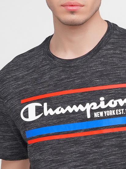 Футболка Champion модель cha214306-SBWM — фото 3 - INTERTOP