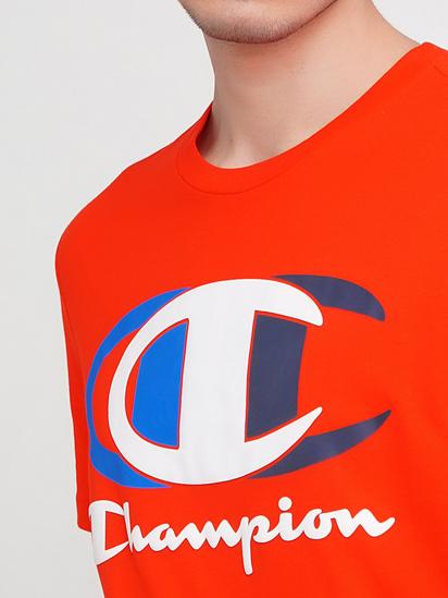 Футболка Champion модель cha214309-FER — фото 3 - INTERTOP