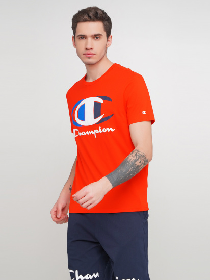 Футболка Champion модель cha214309-FER — фото - INTERTOP