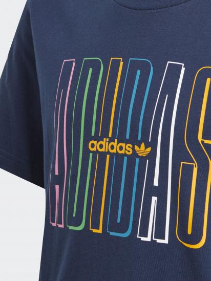 Футболка Adidas GRAPHIC LOGO PRINT модель GN7406 — фото 3 - INTERTOP