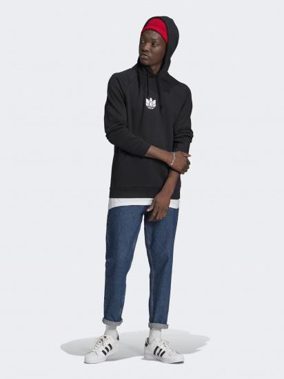 Худі Adidas ADICOLOR 3D TREFOIL GRAPHIC модель GN3555 — фото 3 - INTERTOP