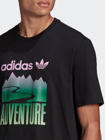 Футболка Adidas ADVENTURE MOUNTAIN LOGO модель GN2357 — фото 3 - INTERTOP