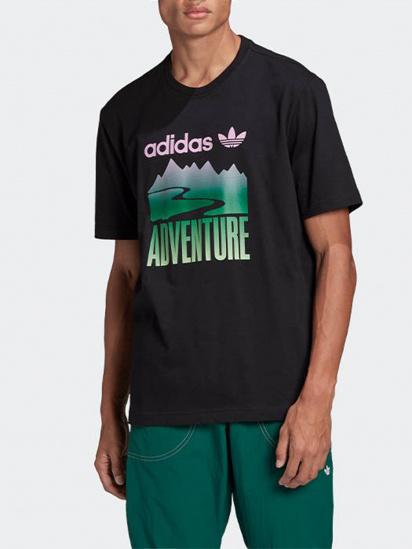 Футболка Adidas ADVENTURE MOUNTAIN LOGO модель GN2357 — фото - INTERTOP