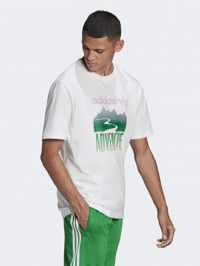 Футболка Adidas ADVENTURE MOUNTAIN LOGO модель GN2358 — фото 3 - INTERTOP
