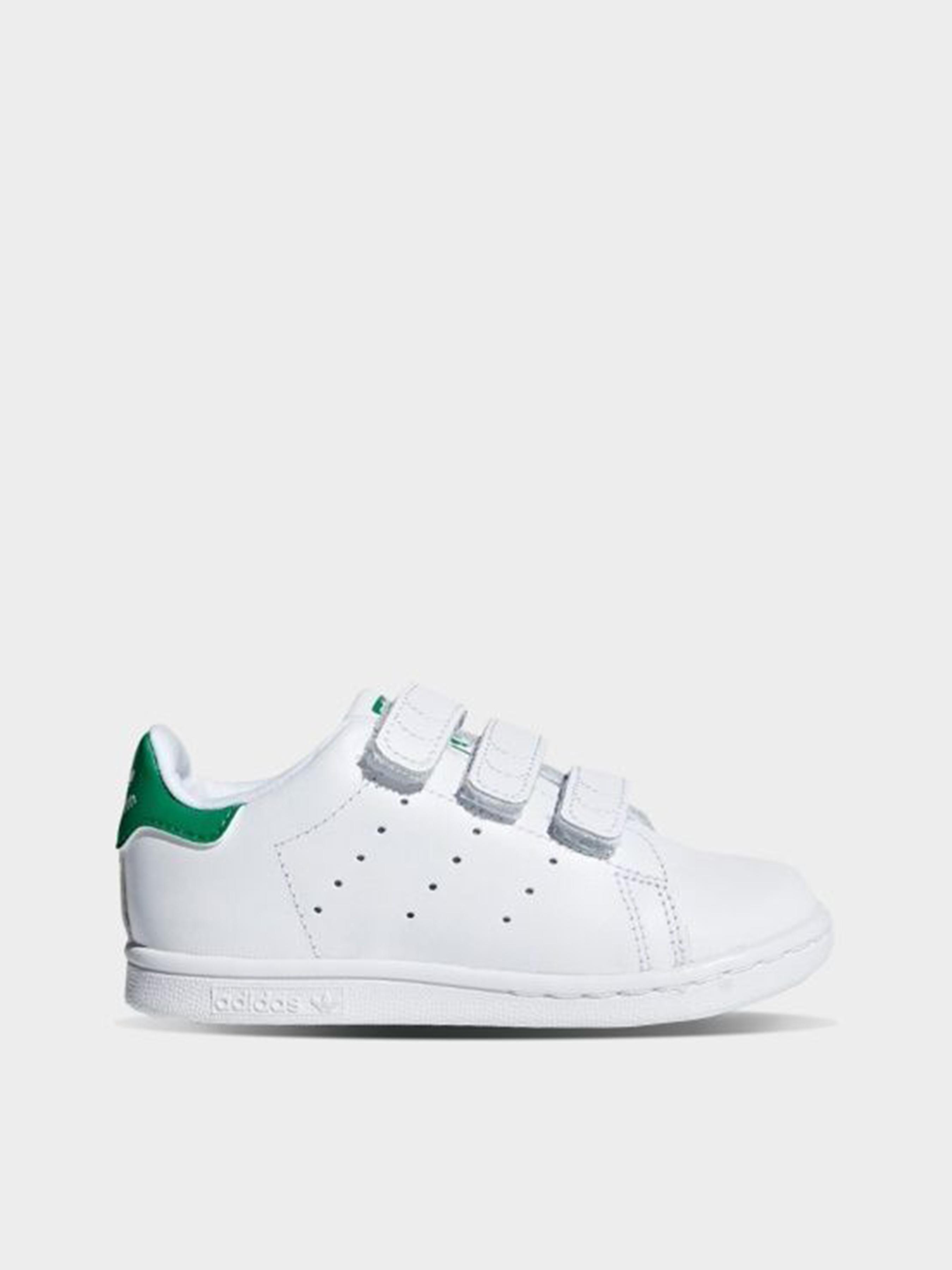 Кеды для детей Adidas STAN SMITH CF I CP16 размеры обуви, 2017