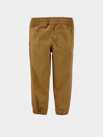 Спортивні штани Carter's модель 18459912-brwn — фото 2 - INTERTOP