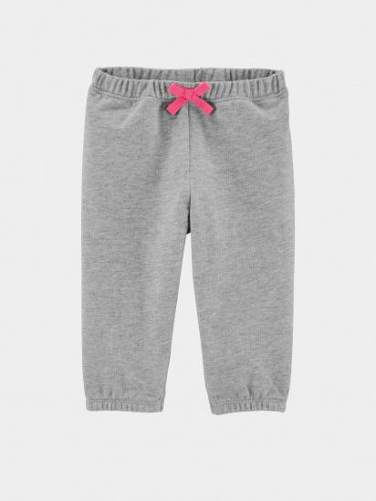 Спортивні штани Carter's модель 1H314510-gray — фото - INTERTOP