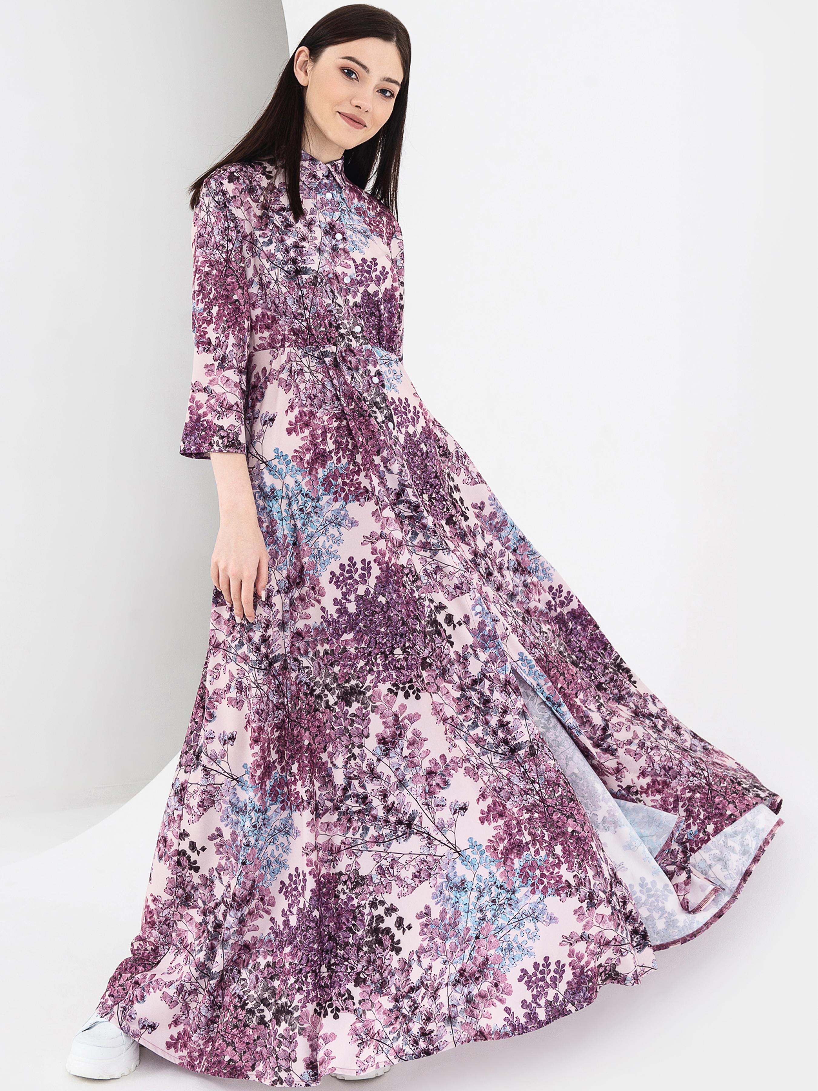 Купить Платье женское VOVK модель 08117 принт, Многоцветный