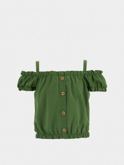 Блуза з коротким рукавом Defacto модель T4062A6-GN775 — фото - INTERTOP