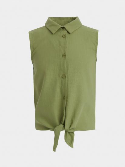Блуза з коротким рукавом Defacto модель T4057A6-GN775 — фото - INTERTOP