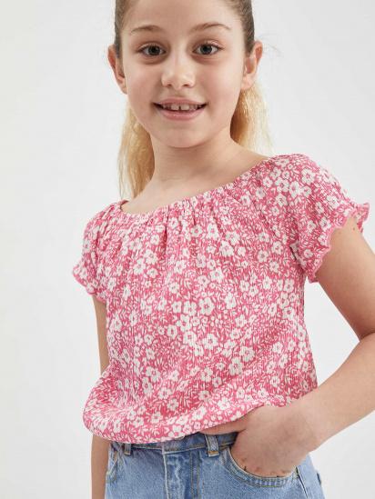 Блуза з коротким рукавом Defacto модель U3709A6-PN237 — фото - INTERTOP