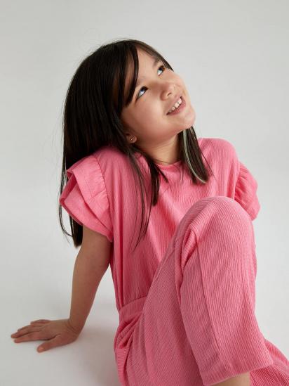 Блуза з коротким рукавом Defacto модель U3712A6-PN237 — фото 3 - INTERTOP
