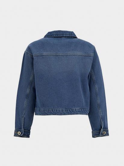 Джинсова куртка Defacto модель T3211A6-BE394 — фото 2 - INTERTOP