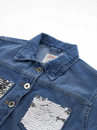 Джинсова куртка Defacto модель T3211A6-BE394 — фото 3 - INTERTOP