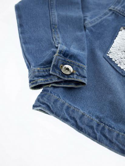 Джинсова куртка Defacto модель T3211A6-BE394 — фото 4 - INTERTOP