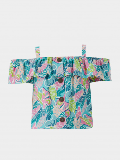 Блуза з коротким рукавом Defacto модель T4048A6-TR291 — фото - INTERTOP