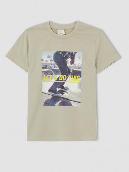 Набір футболок Defacto модель U3698A6-BG620 — фото 3 - INTERTOP
