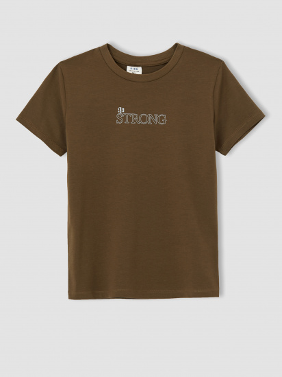 Набір футболок Defacto модель U3737A6-WT43 — фото 2 - INTERTOP