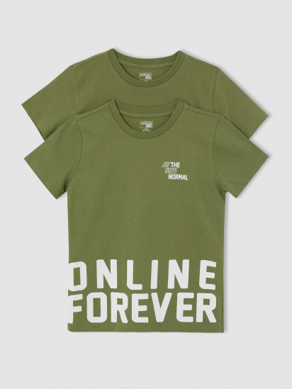 Набір футболок Defacto модель U6547A6-KH210 — фото 2 - INTERTOP