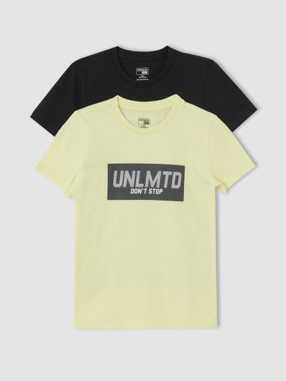 Набір футболок Defacto модель U6550A6-BK27 — фото 2 - INTERTOP