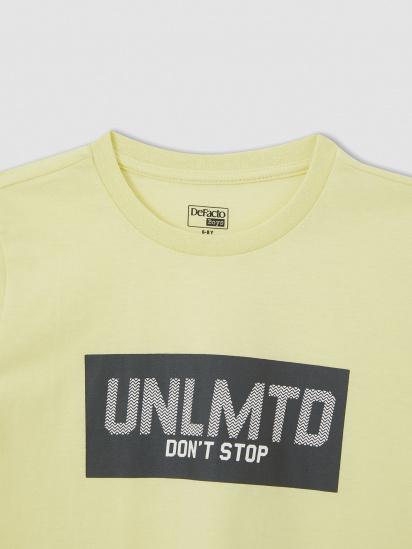 Набір футболок Defacto модель U6550A6-BK27 — фото 5 - INTERTOP