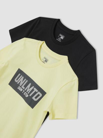 Набір футболок Defacto модель U6550A6-BK27 — фото - INTERTOP