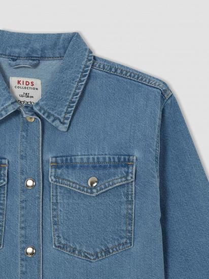 Джинсова куртка Defacto модель V2646A6-NM28 — фото 3 - INTERTOP