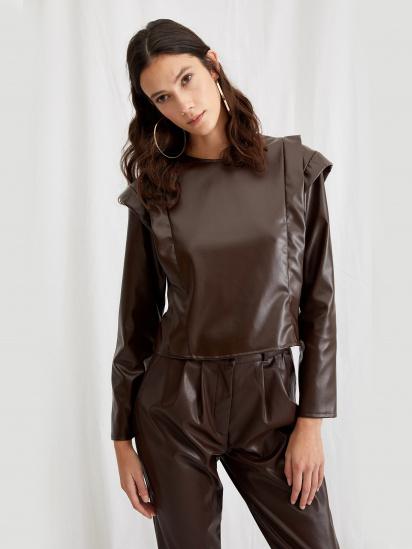 Блуза з довгим рукавом Defacto модель T4792AZ-BN104 — фото 3 - INTERTOP