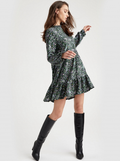 Сукня Defacto модель S6334AZ-BK27 — фото 4 - INTERTOP
