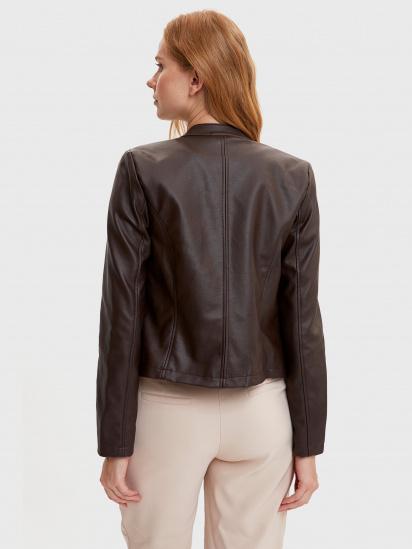 Шкіряна куртка Defacto модель N6772AZ-BN1 — фото 2 - INTERTOP