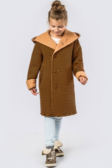Пальто X-Woyz модель DT827310 — фото 4 - INTERTOP