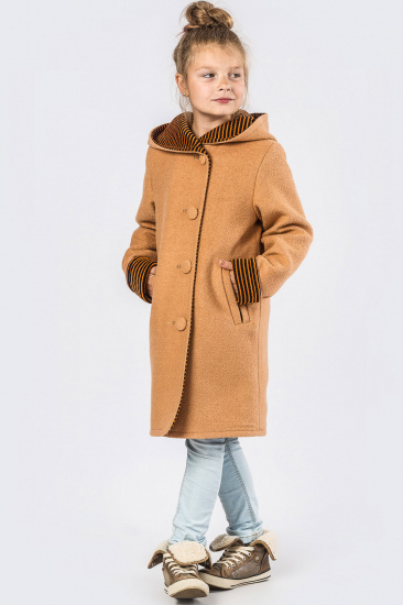 Пальто X-Woyz модель DT827310 — фото 5 - INTERTOP