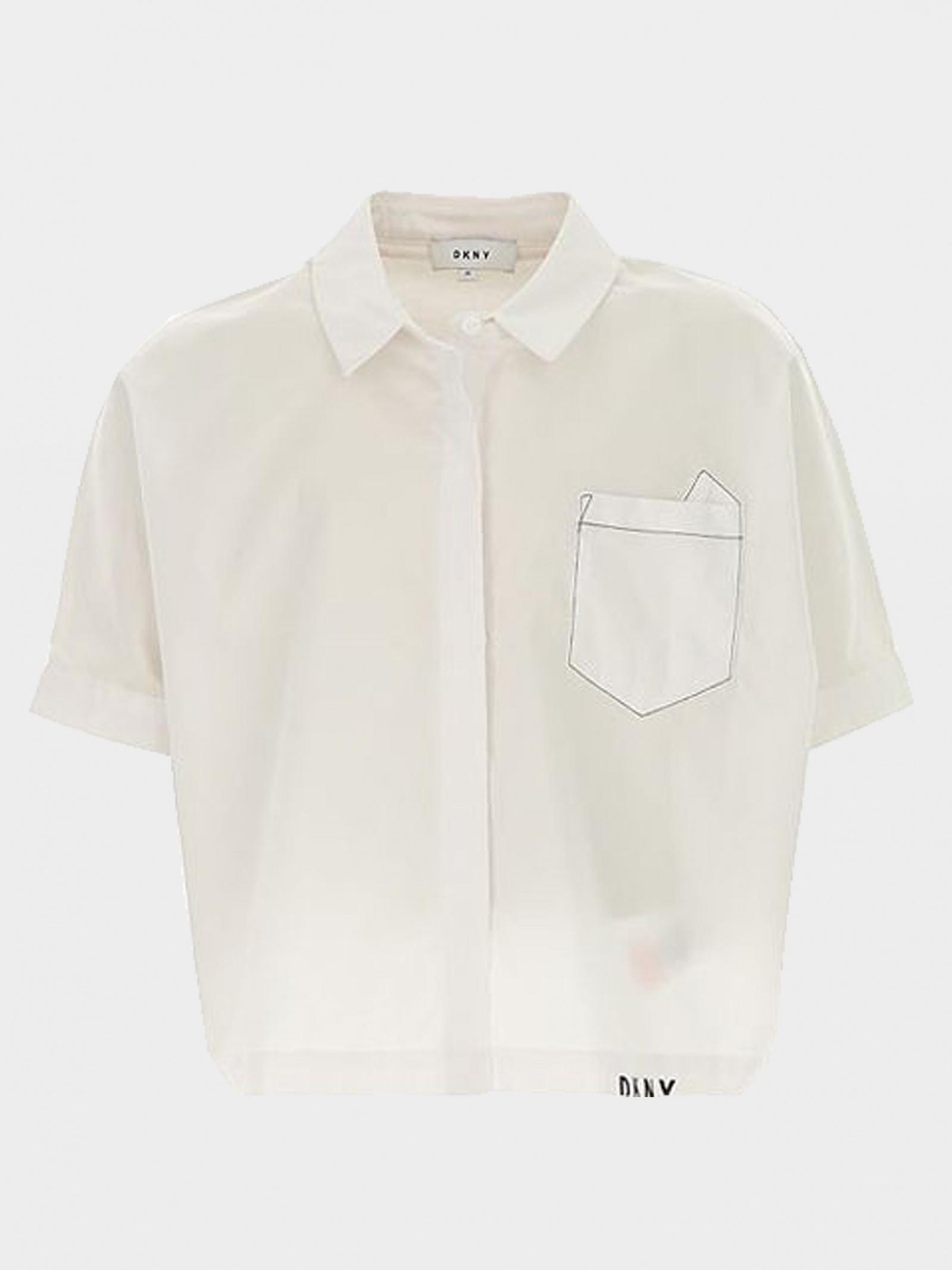 Рубашка с коротким рукавом детские DKNY модель DY475 приобрести, 2017