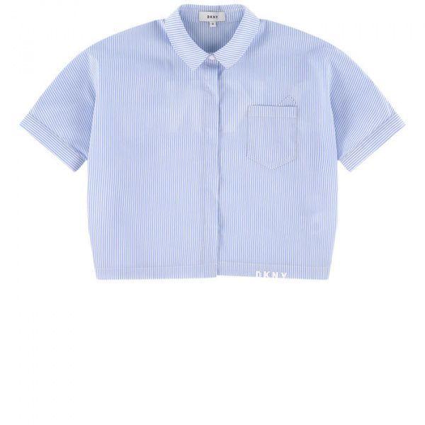 DKNY Рубашка с коротким рукавом детские модель DY476 приобрести, 2017