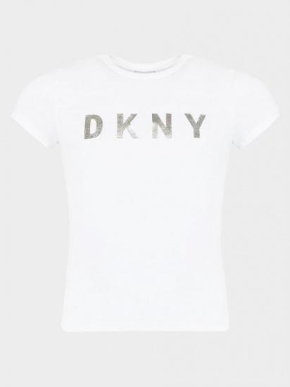 Футболка DKNY модель D35N99/10B — фото - INTERTOP