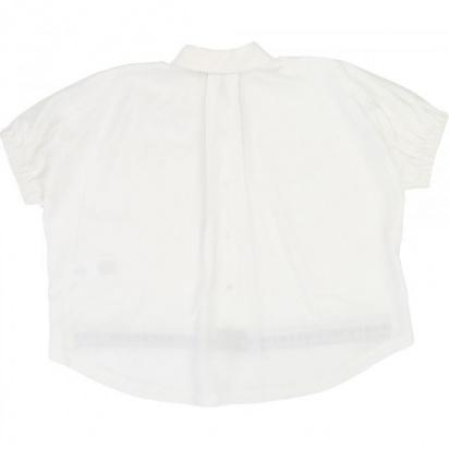 Блуза з коротким рукавом DKNY модель D35Q09/10B — фото 2 - INTERTOP