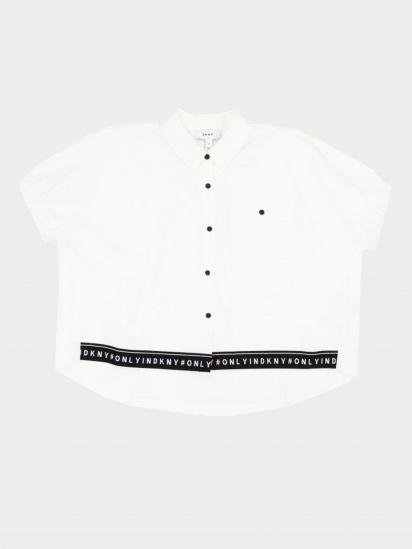 Блуза з коротким рукавом DKNY модель D35Q09/10B — фото - INTERTOP