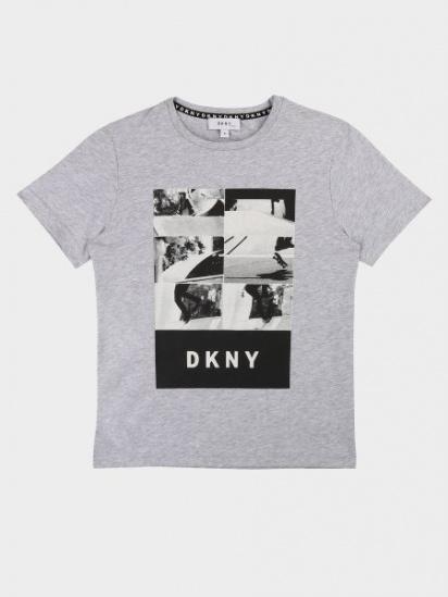 Футболка DKNY модель D25C59/A32 — фото - INTERTOP