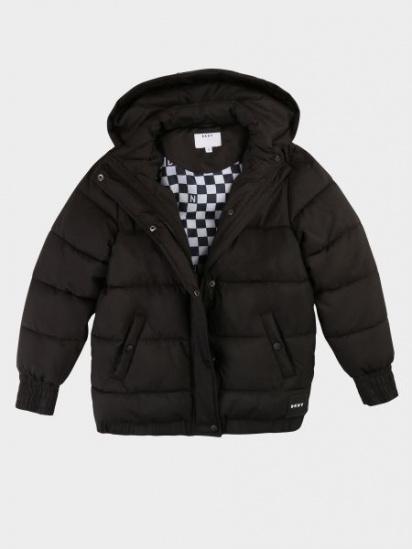 Пальто з утеплювачем DKNY модель D36607/09B — фото 3 - INTERTOP