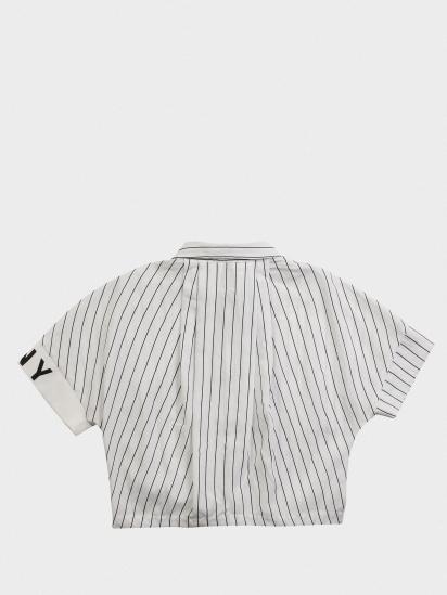Блуза з коротким рукавом DKNY модель D35Q63/10B — фото 2 - INTERTOP