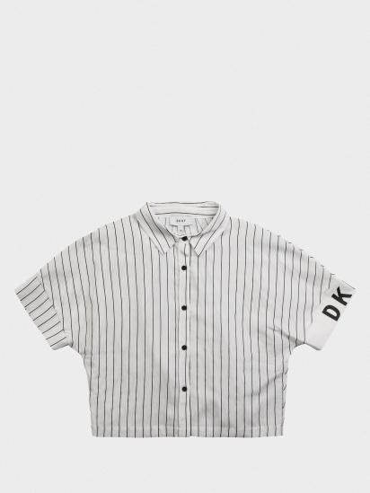 Блуза з коротким рукавом DKNY модель D35Q63/10B — фото - INTERTOP