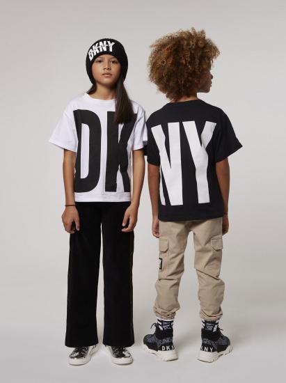 Брюки повсякденні DKNY модель D34998/09B — фото 3 - INTERTOP