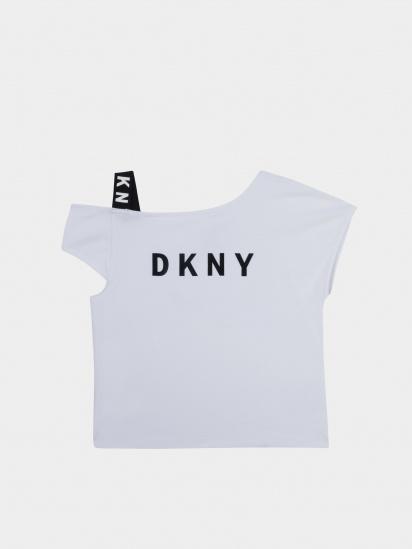 Футболка DKNY модель D35R44/10B — фото - INTERTOP