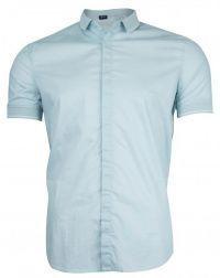 Рубашка с коротким рукавом мужские Armani Jeans модель EE1652 цена, 2017