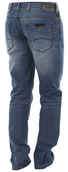 Джинсы мужские Armani Jeans модель EE1706 качество, 2017