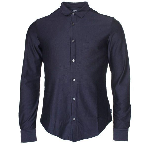 Armani Jeans Рубашка с длинным рукавом мужские модель EE2009 приобрести, 2017