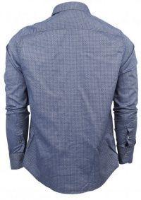 Рубашка с длинным рукавом мужские Armani Jeans модель EE2013 цена, 2017