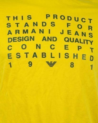 Футболка мужские Armani Jeans модель 6Y6T62-6JPFZ-1605 приобрести, 2017